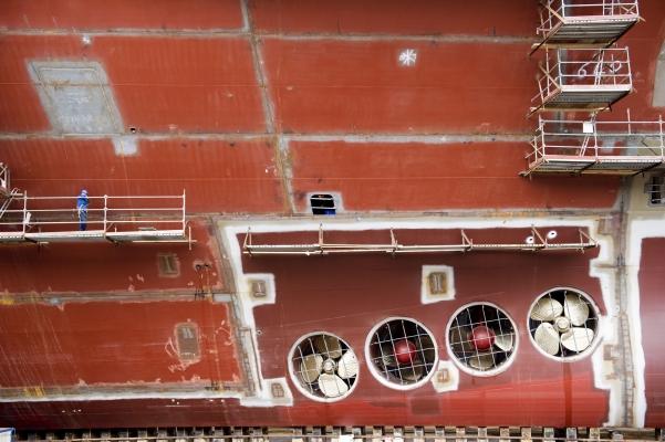 STX ST NAZAIRE, 2011, photo C Goussard pour le groupe Alpha-5